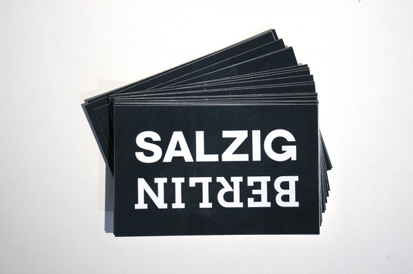 SALZIG Berlin Sticker