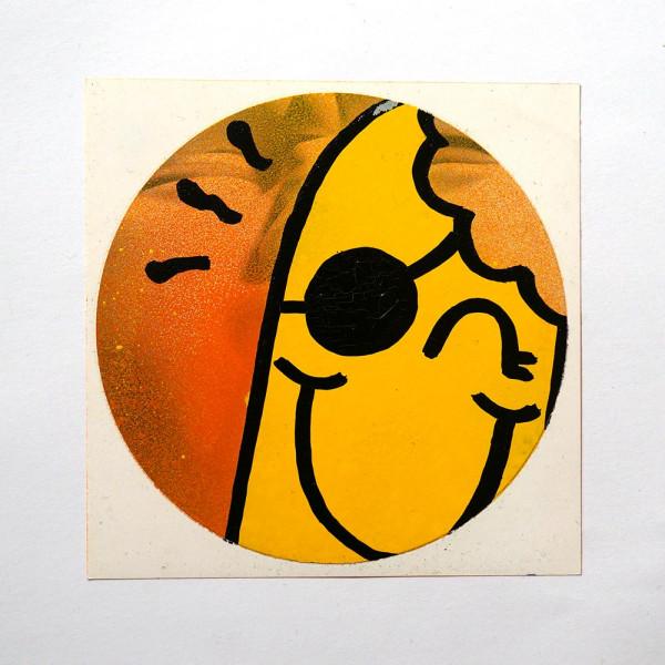 """Señor Schnu: """"Handmade Sticker 4"""" - SALZIG, Streetart Galerie in Friedrichshain"""