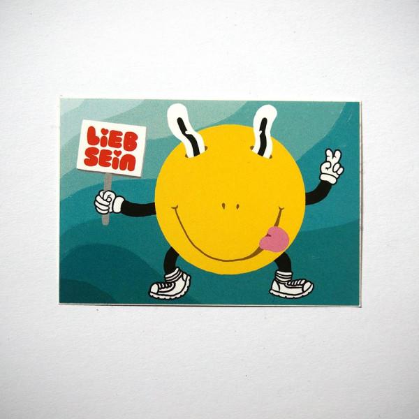 """LIEB SEIN: """"Smile"""" - Sticker"""