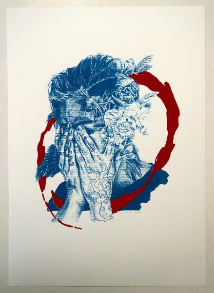 "Alan Myers: ""No title 3"" - Screenprint on Paper"
