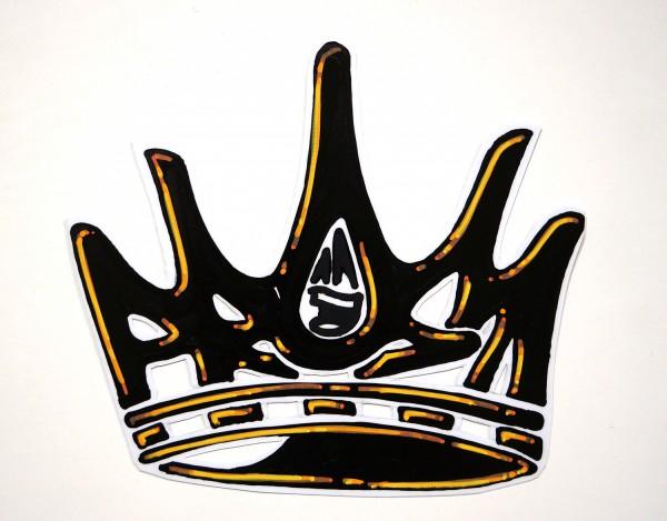 """Mein lieber Prost: """"Crown"""" - Handmade Sticker"""