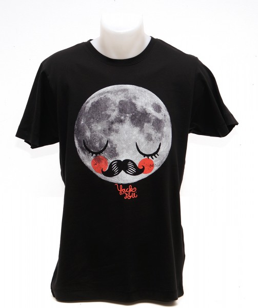 Yackfou: Für Neil T-Shirt auf Schwarz