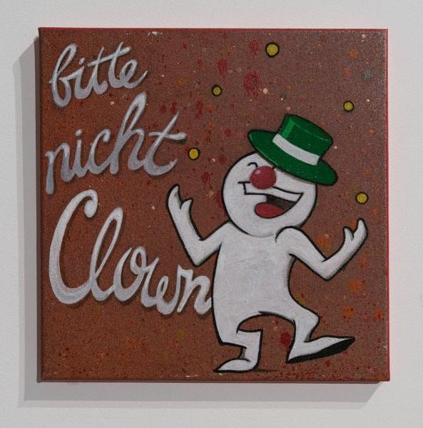 """Mein lieber Prost: """"bitte nicht Clown"""""""