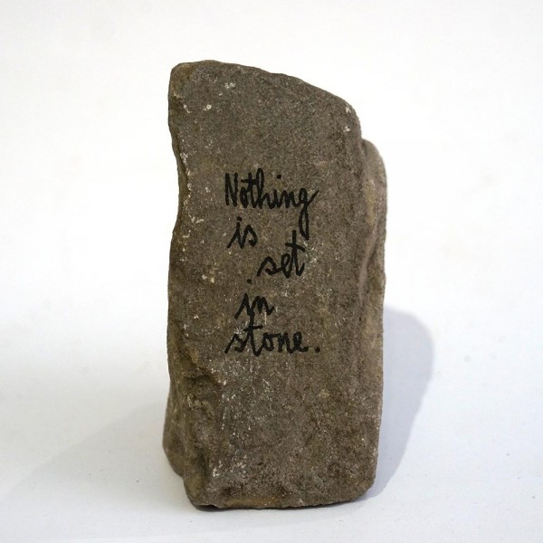 "Rabea Senftenberg: ""Nothing is set in stone""  - Marker and fun on Stone, a piece of Berlin"