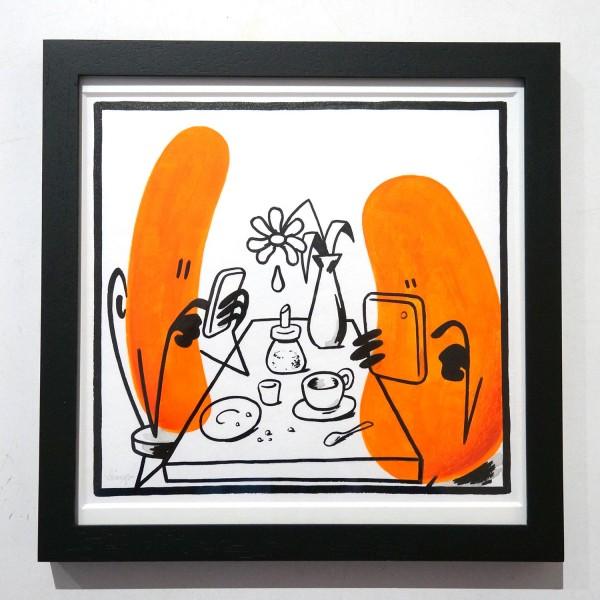 "Dave the Chimp: ""Modern Romance"" - SALZIG Berlin Streetart Galerie"